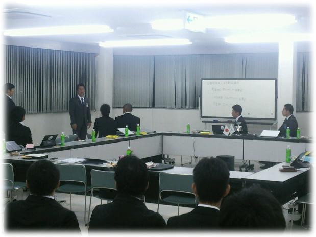 加藤理事長 歓迎の挨拶