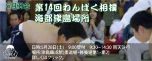 第14回んぱく相撲海部津島場所(5月例会)