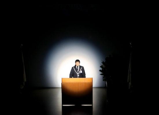 賀詞交歓会(1月例会)理事長所信